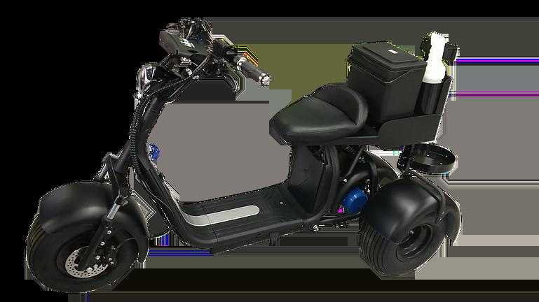 fat tire golf scooter rebel 3 wheel