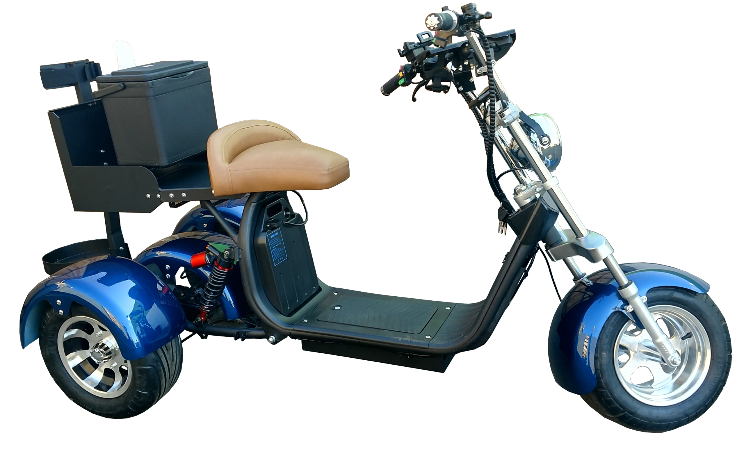 2020 Rebel Trike Blue